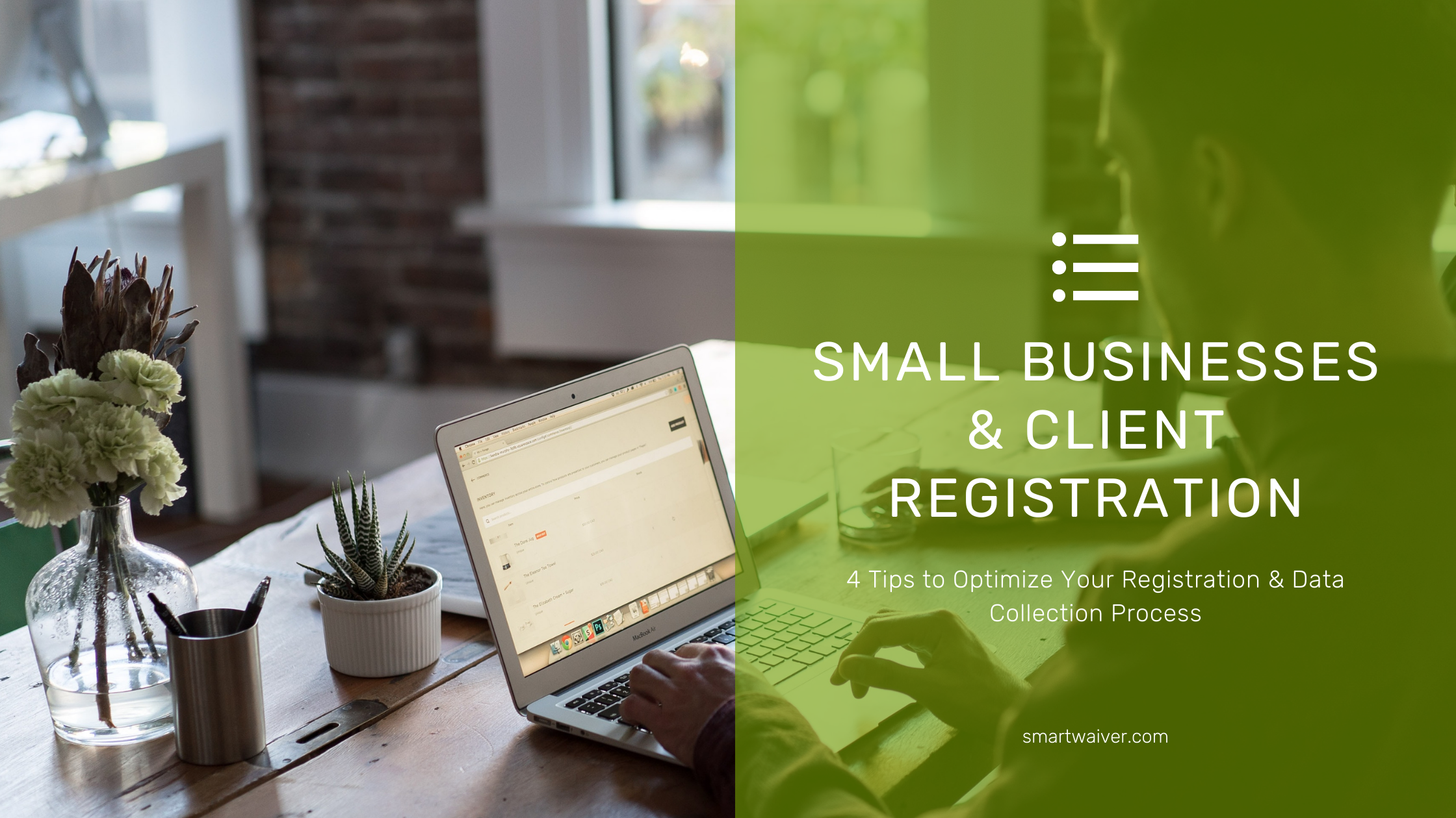 Small Businesses & Client Registration